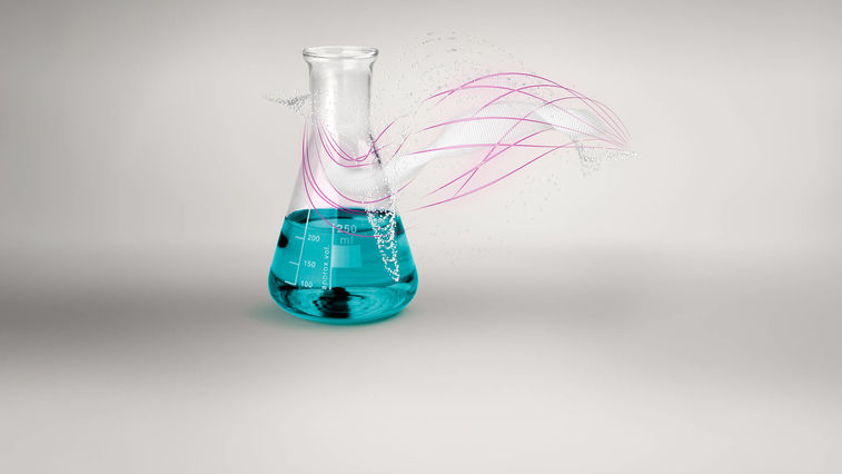 Chemical glass